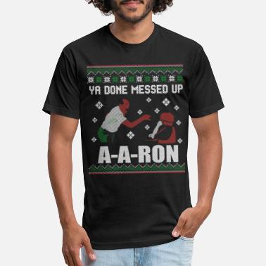 Done Ya done messed up aaron - Unisex Poly Cotton T-Shirt