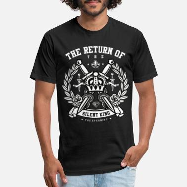 Knife The return of the silent king - Unisex Poly Cotton T-Shirt