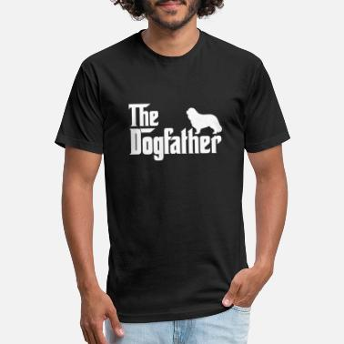 Charles Cavalier King Charles Spaniel DogFather T-Shirt - Unisex Poly Cotton T-Shirt