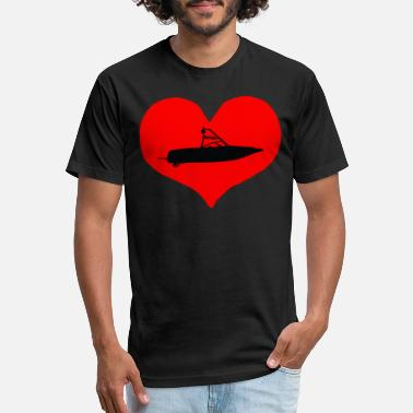 Bow Rider BOW RIDER HEART - Unisex Poly Cotton T-Shirt