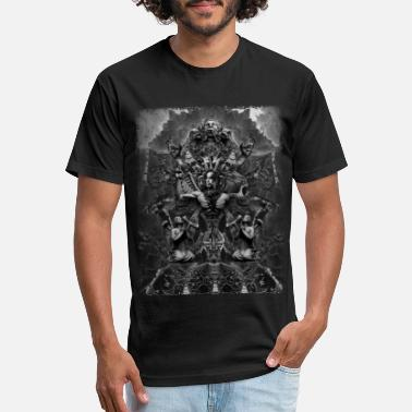 Fallen Angel Adam Nergal Darski - Fan Art - Behemoth - Unisex Poly Cotton T-Shirt