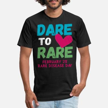 Dare Dare to Love Rare Feb 28 Disease Day 2019 Tshirt - Unisex Poly Cotton T-Shirt