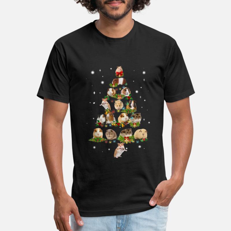 tee Christmas Guinea Pig Christmas Tree Awesome Gift Unisex Sweatshirt