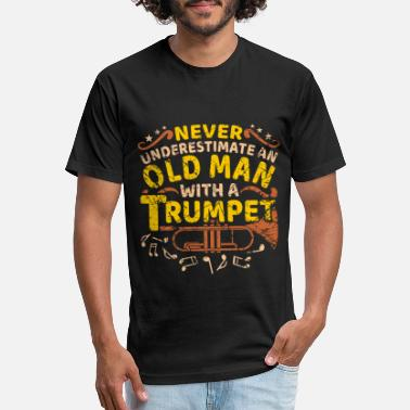 Trumpets Trumpet Trumpet Trumpet Trumpeter Trumpeter Saying - Unisex Poly Cotton T-Shirt