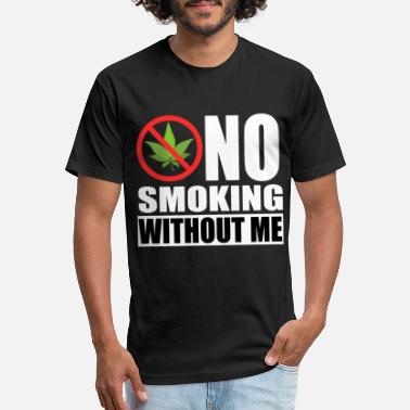 Culture A Nice Cannabis Tee For High Persons No Smoking - Unisex Poly Cotton T-Shirt