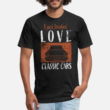 Vintage Car Vintage Car - Unisex Poly Cotton T-Shirt