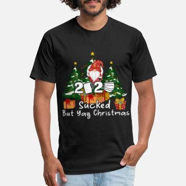 2020 Sucked But Yay Christmas - Unisex Poly Cotton T-Shirt