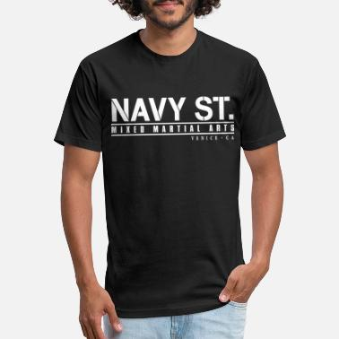 Mma navy st - Unisex Poly Cotton T-Shirt