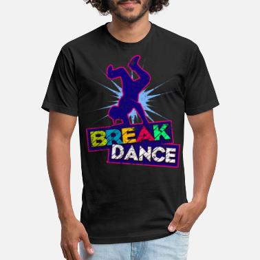 Break Dance Break Dance - Unisex Poly Cotton T-Shirt