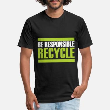 Sustainability Recycling gift sustainability sustainable - Unisex Poly Cotton T-Shirt