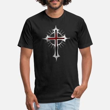 Christian Cross Cross Christianity - Unisex Poly Cotton T-Shirt