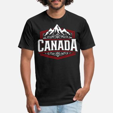 Canada Canadian Heritage T-shirt Proud Canadian Heritage Pride Stylized Shirt