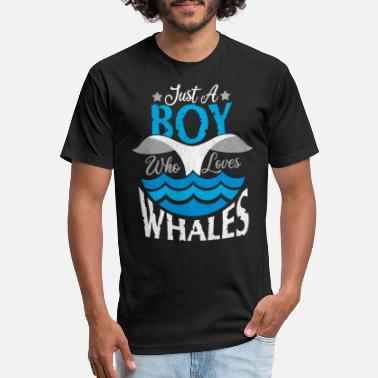 Ocean Animals Whale Fish Ocean Animal Gift - Unisex Poly Cotton T-Shirt