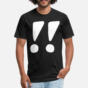 Exclamation Mark Two exclamation marks - Unisex Poly Cotton T-Shirt