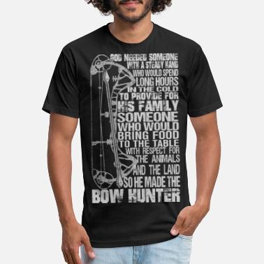 Bow Rider Bow hunter - Awesome bow hunter t-shirt - Unisex Poly Cotton T-Shirt