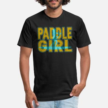 Paddle Paddle Board T Shirt - Unisex Poly Cotton T-Shirt