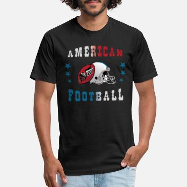 American Football - Unisex Poly Cotton T-Shirt