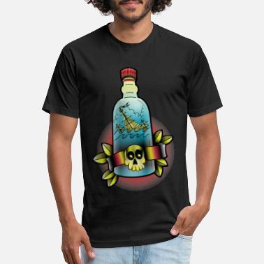 Bottle - Unisex Poly Cotton T-Shirt