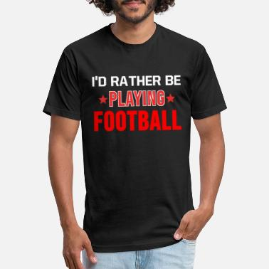 American Football Team Football Shirt American Football Player Team Gift -  Unisex Poly Cotton T- 27981181d