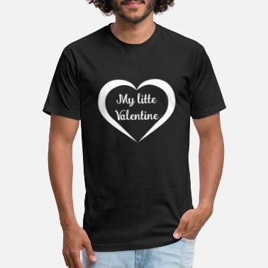 Litte Boy My litte Valentine - Unisex Poly Cotton T-Shirt