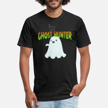 Unnatural paranormal creepy ghost hunter - Unisex Poly Cotton T-Shirt