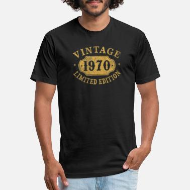 Years 50 years old 50th Birthday Anniversary 1970 - Unisex Poly Cotton T-Shirt