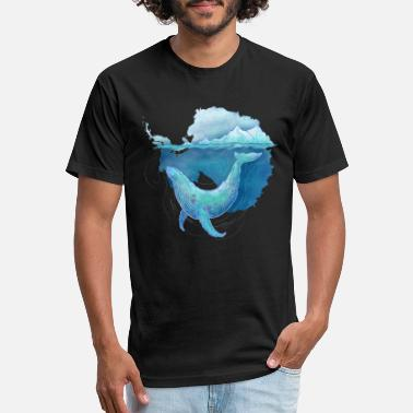 Southern Southern Ocean Whale Sanctuary - Unisex Poly Cotton T-Shirt