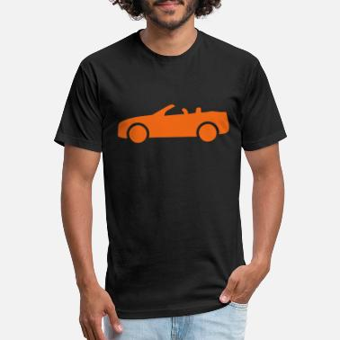 Convertible Car - Unisex Poly Cotton T-Shirt