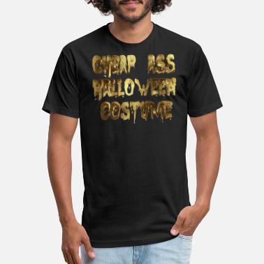 66eac4f41823 Cheap Halloween Costume Funny Cheap Ass Halloween Costume Funny golden -  Unisex Poly Cotton T-
