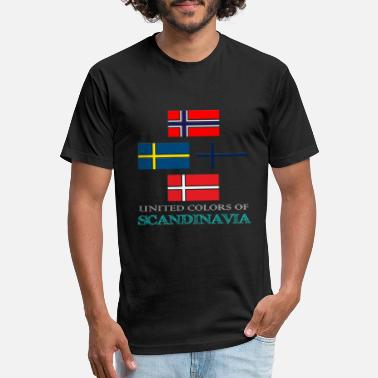Scandinavia UNITED COLORS OF SCANDINAVIA - Unisex Poly Cotton T-Shirt