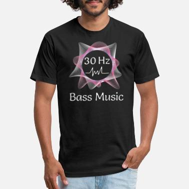 Subwoofer Bass Music 30 Hz from Subwoofer - Unisex Poly Cotton T-Shirt