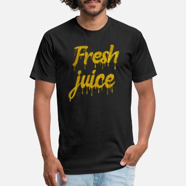 Fresh juice t shirt - Unisex Poly Cotton T-Shirt