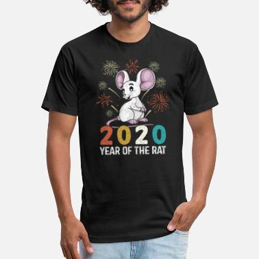 2020 Year of The Rat - Unisex Poly Cotton T-Shirt