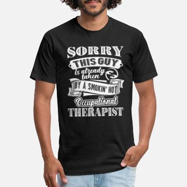 Occupation Taken By Occupational Therapist - Unisex Poly Cotton T-Shirt