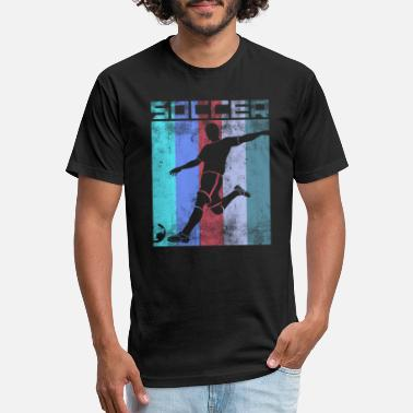 Soccer Fan soccer player football sport running soccer fan - Unisex Poly Cotton T-Shirt
