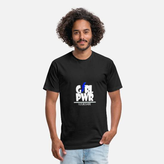 Birthday T-Shirts - Girl Power Future Emancipation Women's equality - Unisex Poly Cotton T-Shirt black