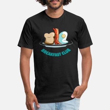 The Breakfast Club Breakfast Club - Fitted Cotton/Poly T-Shirt by Next Level