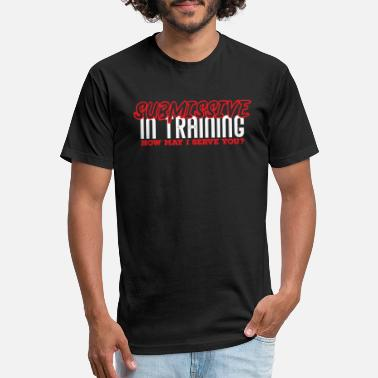 Submissive Submissive In Training - Unisex Poly Cotton T-Shirt