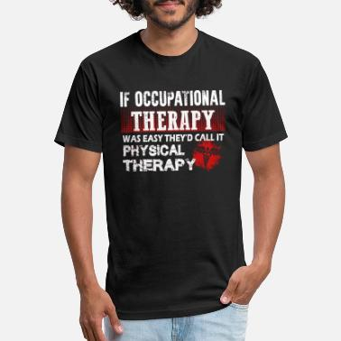 Therapy Occupational therapy - occupational therapy - o - Unisex Poly Cotton T-Shirt
