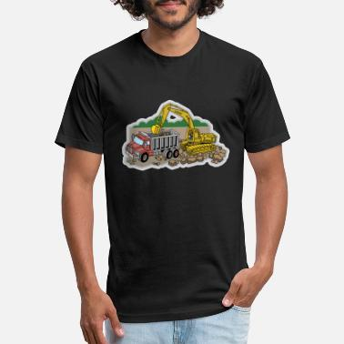 Site Construction Site - Unisex Poly Cotton T-Shirt