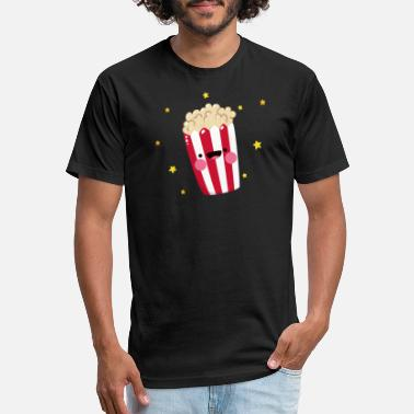 Popcorn Cinema Theater Shirt - Unisex Poly Cotton T-Shirt