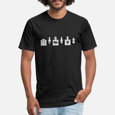 Periodic Elements: CHeSS - Unisex Poly Cotton T-Shirt