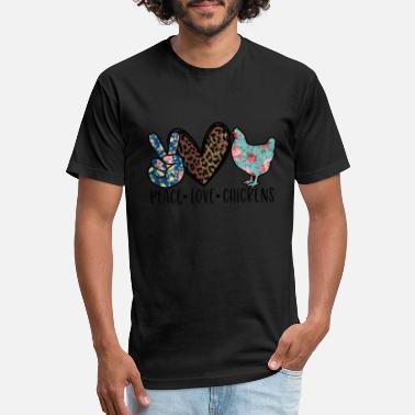 - Peace.love.chicken Peace Standard Unisex T-shirt Love Chicken
