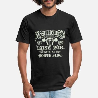 Irish Bar Irish Pub - Unisex Poly Cotton T-Shirt