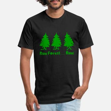 Forest Run forest run - Unisex Poly Cotton T-Shirt