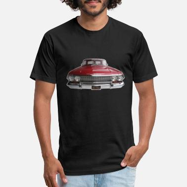f54694f16 California Culture Red 1963 Impala Lowrider - Unisex Poly Cotton T-Shirt