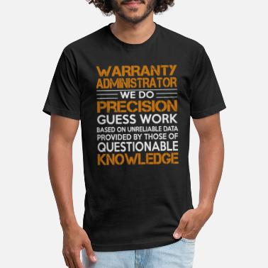Administrator awesome Shirt For Warranty - Unisex Poly Cotton T-Shirt