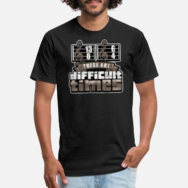 08bbb5bc85f Musician These Are Difficult Times Music Lover - Unisex Poly Cotton T-Shirt