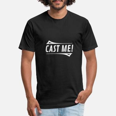 Theatre Cast Me Theatre - Funny Actress Casting Shirt - Unisex Poly Cotton T-Shirt