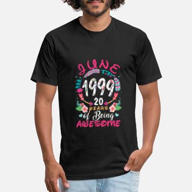 June 1990 29 years of being awesome - Unisex Poly Cotton T-Shirt